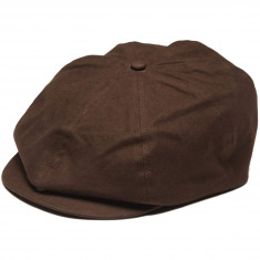 Brixton Brood Adjustable Snap Hat - Brown