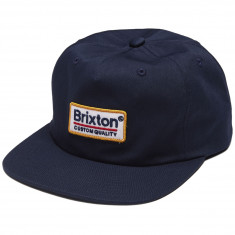 Brixton Palmer MP Snapback Hat - Navy