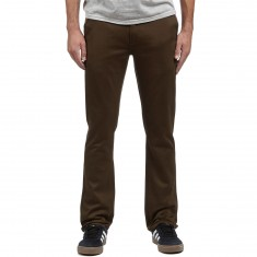 KR3W K Slim Chino Pants - Dark Drab
