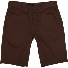 KR3W Kslim 5 Pocket Shorts - Oxblood