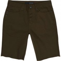 KR3W Kslim 5 Pocket Shorts - Dark Drab