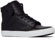 Supra Skytop Shoes - Black/White