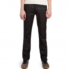 KR3W K Slim Jeans - Raw Black