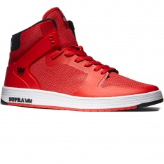 Supra Vaider 2.0 Shoes - Red/White