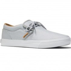 Supra Cuba Shoes - Light Grey/White
