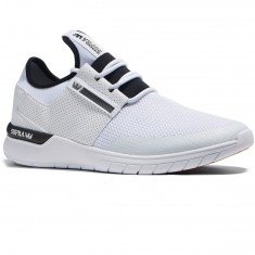 Supra Flow Run Shoes - White/White
