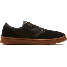 Supra Chino Court Shoes - Black/Gum