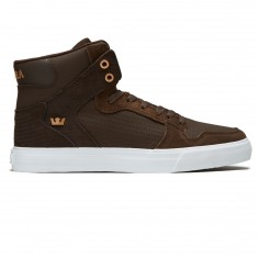 Supra Vaider Shoes - Demitasse/Copper