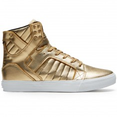 Supra X Modelo Skytop Shoes - Gold