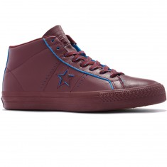Converse One Star Pro Mid Shoes - Deep Bordeaux/Deep Bordeaux