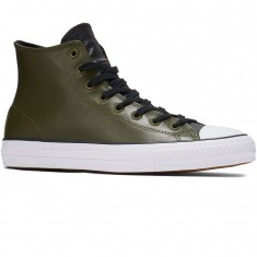 Converse CTAS Pro Leather Shoes - Herbal/Black/White