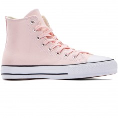 Converse CTAS Pro Hi Suede Backed Shoes - Vapor Pink/Pink Glow/Natural