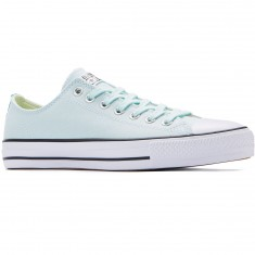 Converse CTAS Pro OX Suede Backed Shoes - Fiberglass/Green Glow/Black