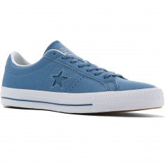 Converse One Star Pro Ox Shoes - Blue Coast/Blue Granite/White