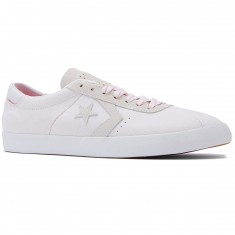 Converse Breakpoint Pro OX Shoes - White/White/Pink Glow