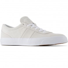 Converse One Star CC OX Suede Shoes - White/White