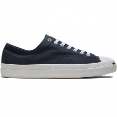 Converse Jack Purcell Pro Shoes - Obsidian/Obsidian/White Canvas