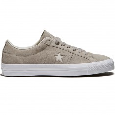 Converse One Star Pro Shoes - Malted/Pale Putty/White Suede