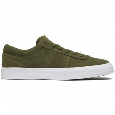 Converse One Star CC Low Shoes - Herbal/Herbal/White Suede