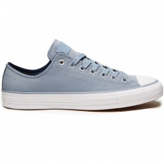 Converse CTAS Pro Suede Backed Twill Shoes - Blue Slate/Midnight Navy