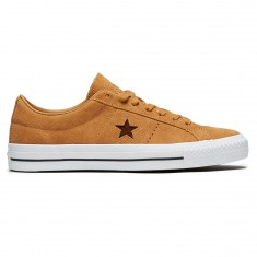 Converse One Star Pro Ox Oiled Suede  Shoes - Raw Sugar/Dark Clove