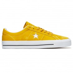 Converse One Star Pro Ox Shoes - Mineral Yellow/White/Black
