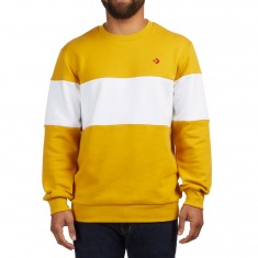 Converse Crew Sweater - Mineral Yellow Multi