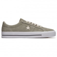 Converse One Star Pro Ox Shoes - Dark Stucco/Driftwood/White
