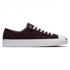 Converse Jack Purcell Pro Shoes - Black Cherry/White/White
