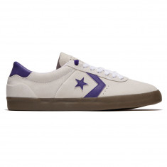 Converse Breakpoint Pro OX Shoes - White/Court Purple/Gum