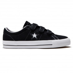 Converse One Star Pro 3V Shoes - Black Pomegranate Red White a5d67b411