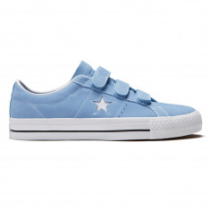 Converse One Star Pro 3V Shoes - Light Blue Navy White 10047a031