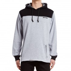 Mighty Healthy Mighty Tech Hoodie - Heather Grey/Black