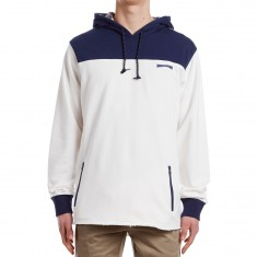 Mighty Healthy Mighty Tech Hoodie - White/Navy