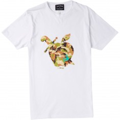 Mighty Healthy Apple Camo T-Shirt - White