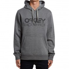 Oakley DWR FP Pullover Hoodie - Athletic Heather Grey