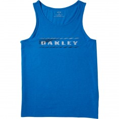 Oakley 50/50 Blurred Lines T-Shirt - Ozone/Light Heather