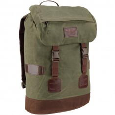 Burton Tinder Backpack - Forest Night/Waxed Canvas