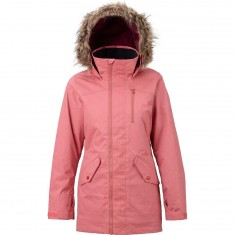 Burton Hazel Womens Snowboard Jacket - Dusty Rose Wax