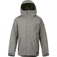 Burton Hilltop Snowboard Jacket - Shade Heather