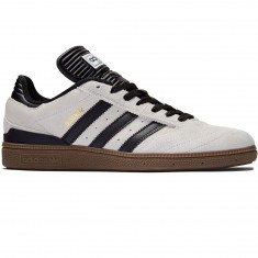 Adidas Busenitz Shoes - Crystal White/Black/Gum