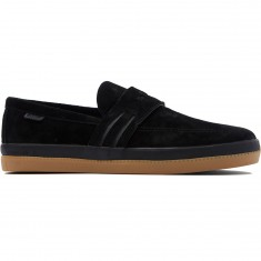 Adidas Acapulco Shoes - Black/Black/Gum