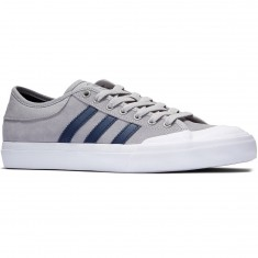 Adidas Matchcourt Shoes - Solid Grey/Collegiate Navy/White