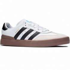 Adidas Busenitz Vulc Samba Edition Shoes - White/Black/Bluebird