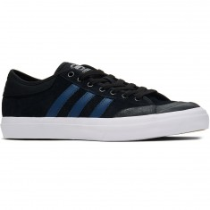 Adidas Matchcourt Shoes - Black/Blue/White