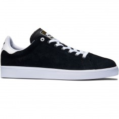 Adidas Stan Smith Vulc Shoes - Black/Black/White Suede