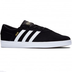 Adidas Silas Vulc Adv Shoes - Black/White/White