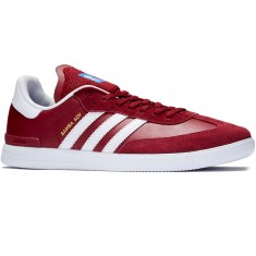 Adidas Samba ADV Shoes - Collegiate Burgundy/White/Bluebird