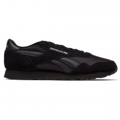Reebok Royal Nylon Shoes - Black/Black/Carbon
