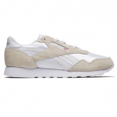 Reebok Royal Nylon Shoes - White/White/Steel